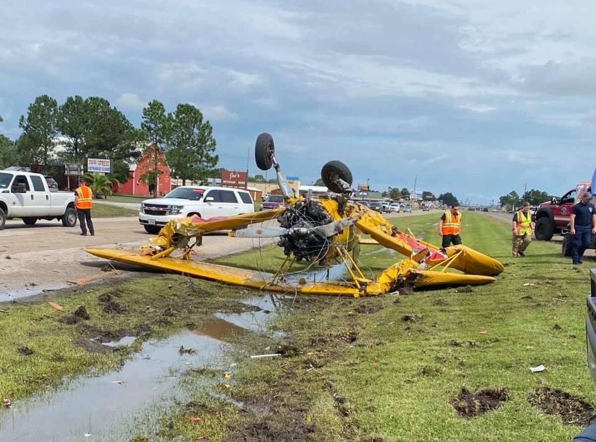 The Chambers County Sheriff's Office asked drivers to avoid 124 and Broadway for about an hour as officials cleared the scene.