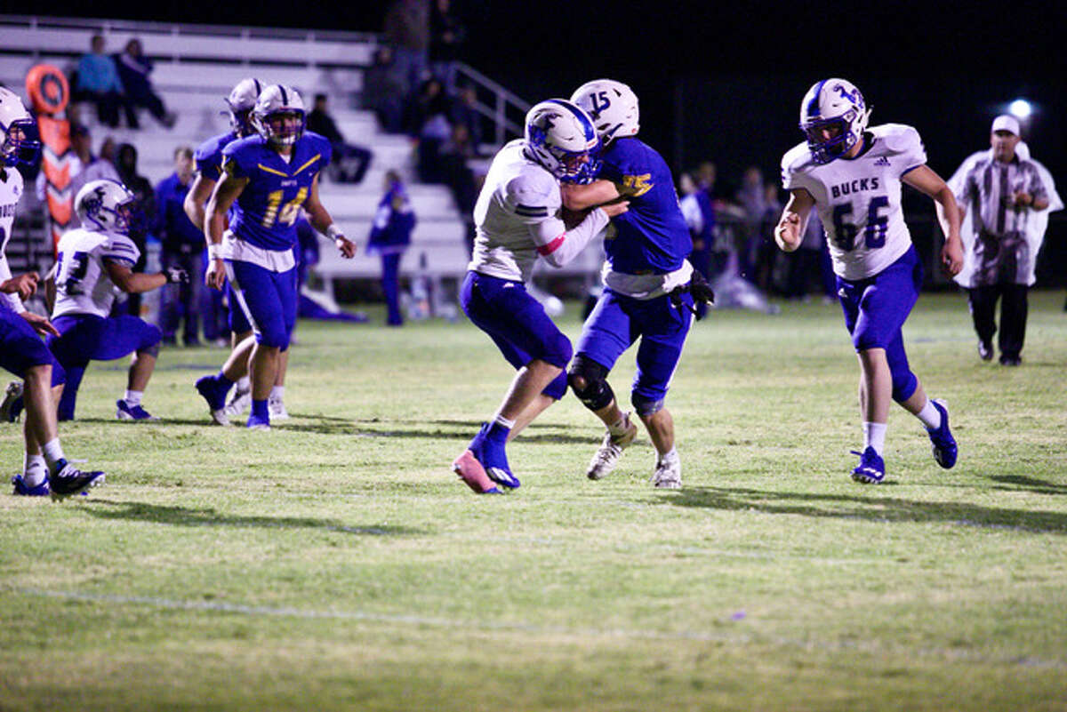 Nazareth defeated White Deer 33-24 in a non-district football game on Friday at Nazareth. It was also the school's homecoming and the presentation of the Lone Star Cup, which Nazareth won last year.