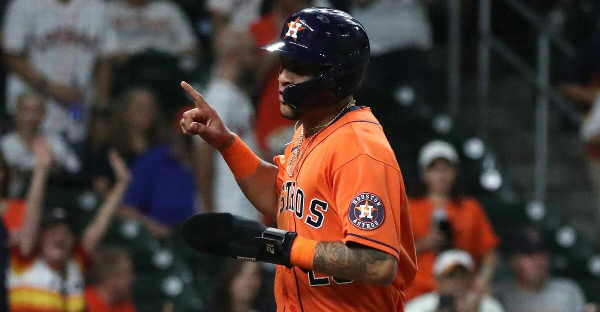 Jose Siri, injured during the final regular-season series, says a fractured pinkie won't stop him from playing during the American League Division Series should the Astros add him to their roster.