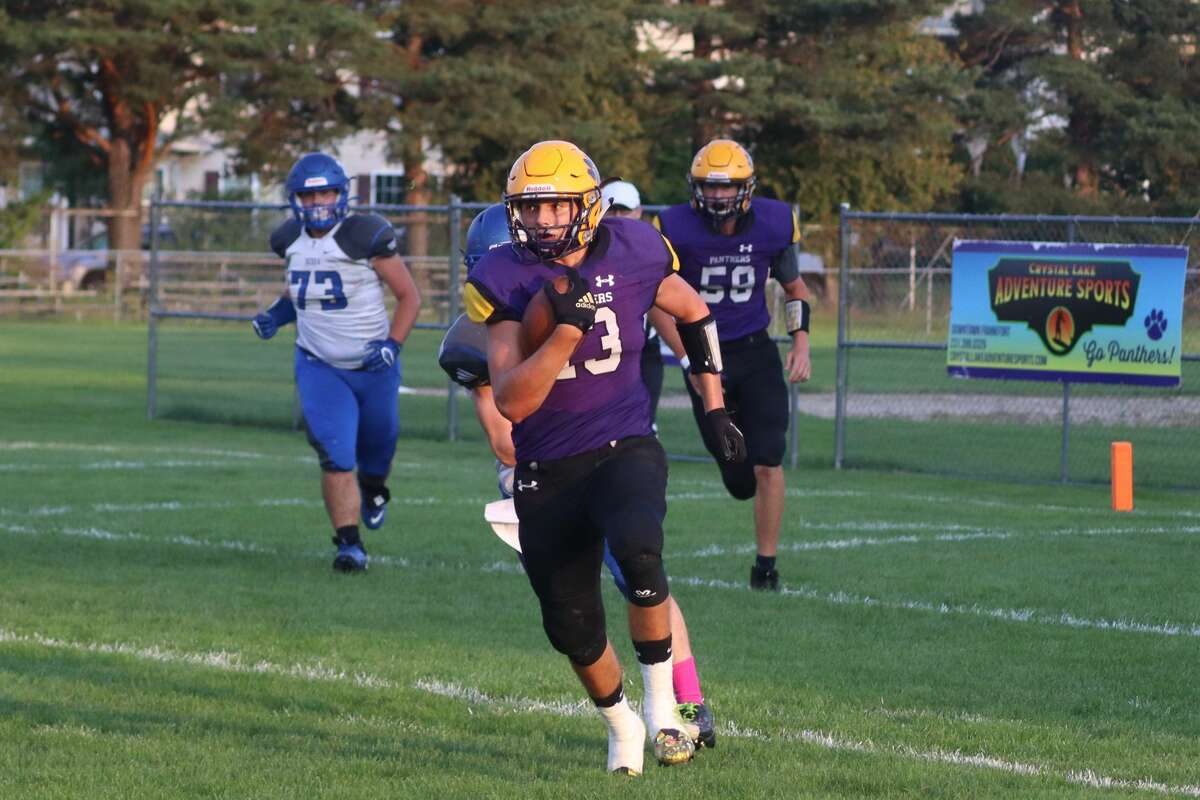The Frankfort Panthers take down Oscoda on Sept. 10, 2021.
