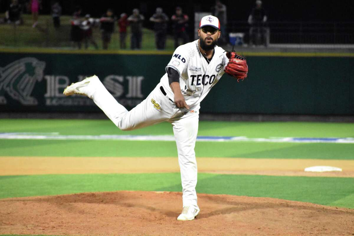 Alejandro Barraza, who pitched for the Tecolotes Dos Laredos this past season, feels a pitch clock would rush his pitching routine.