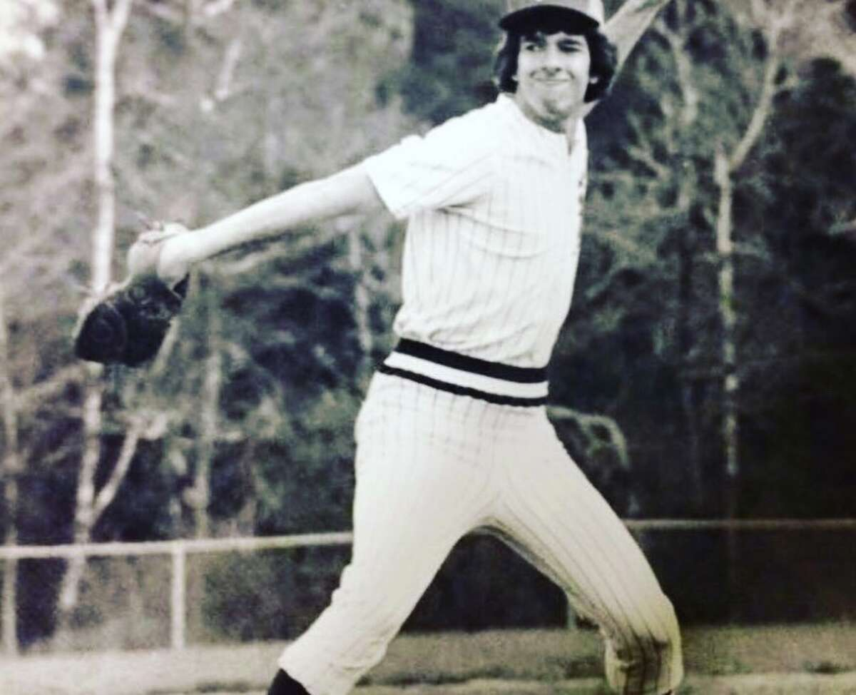 4. Speaking of college, I was a pitcher and outfielder on my college baseball team.
