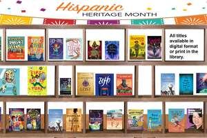 Melissa Thom, a teacher-librarian in West Hartford Public Schools and the president of the Connecticut Association of School Librarians, curated a virtual bookshelf for Hispanic Heritage Month.