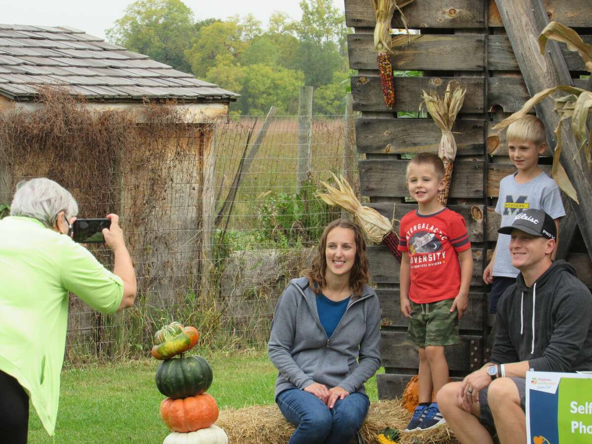 A scene from Chippewa Nature Center's Fall Harvest Festival on Saturday, Oct. 2.
