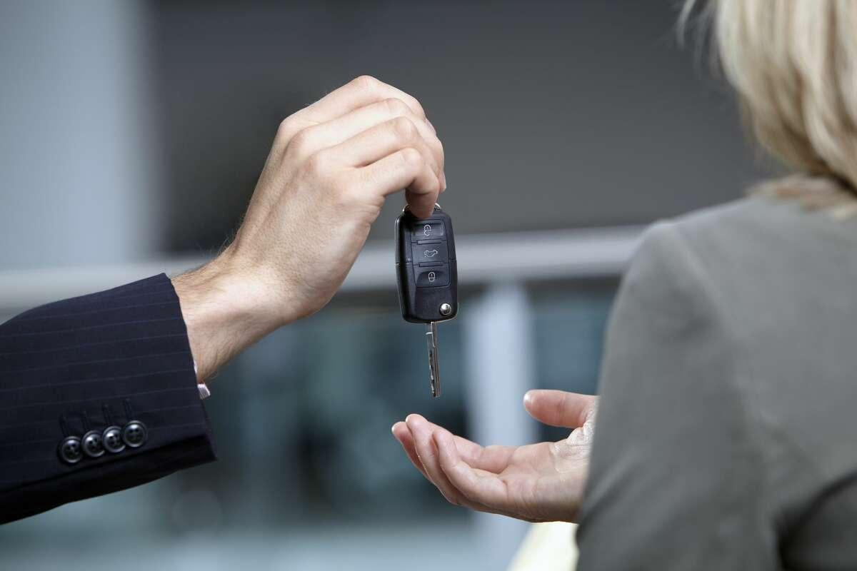 Car shoppping.