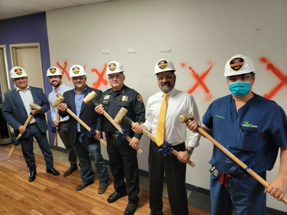 Laredo police began initial renovation of a new state funded Texas Anti-Gang (TAG) Center. Laredo will house the ninth TAG Center in Texas.