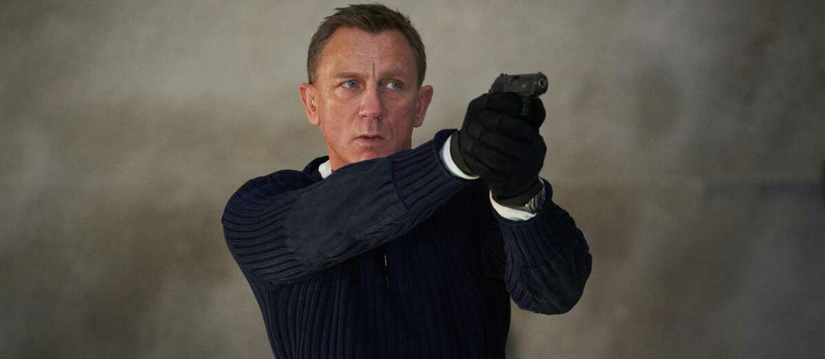 """Daniel Craig stars as James Bond for the final time in """"No Time to Die,"""" which opens Friday."""