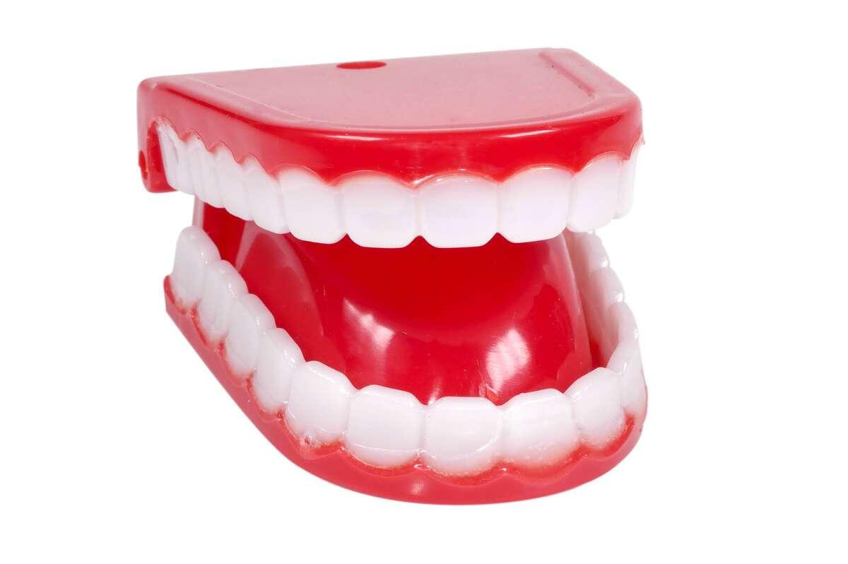 Novelty teeth.