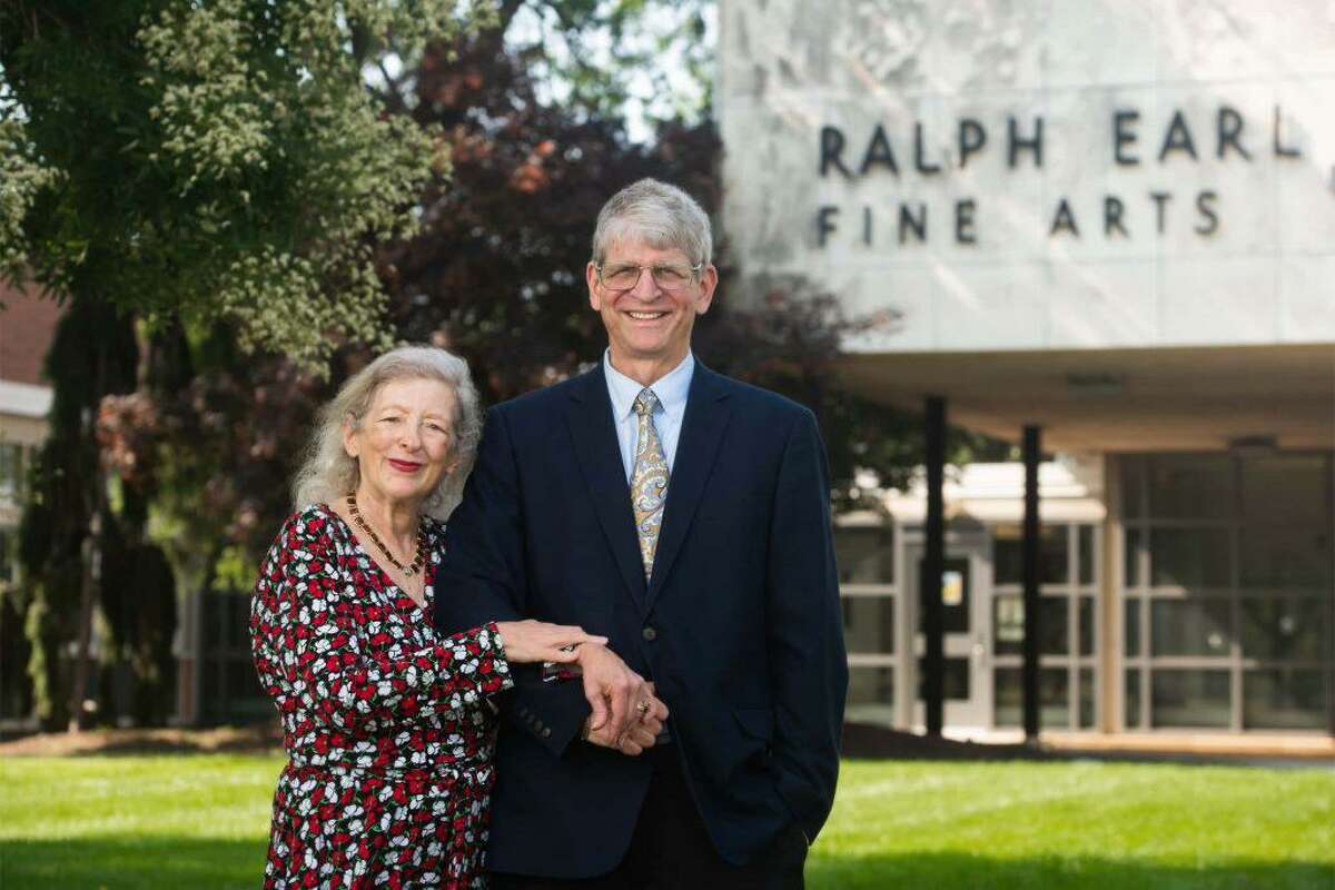 From left, Esther Friesner-Stutzman and Walter Stutzman, trustees of the Stutzman Family Foundation.