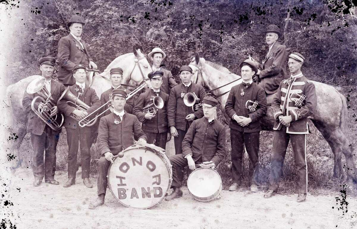 The Honor Town Band looked like in the early 1900s. (Courtesy Photo)