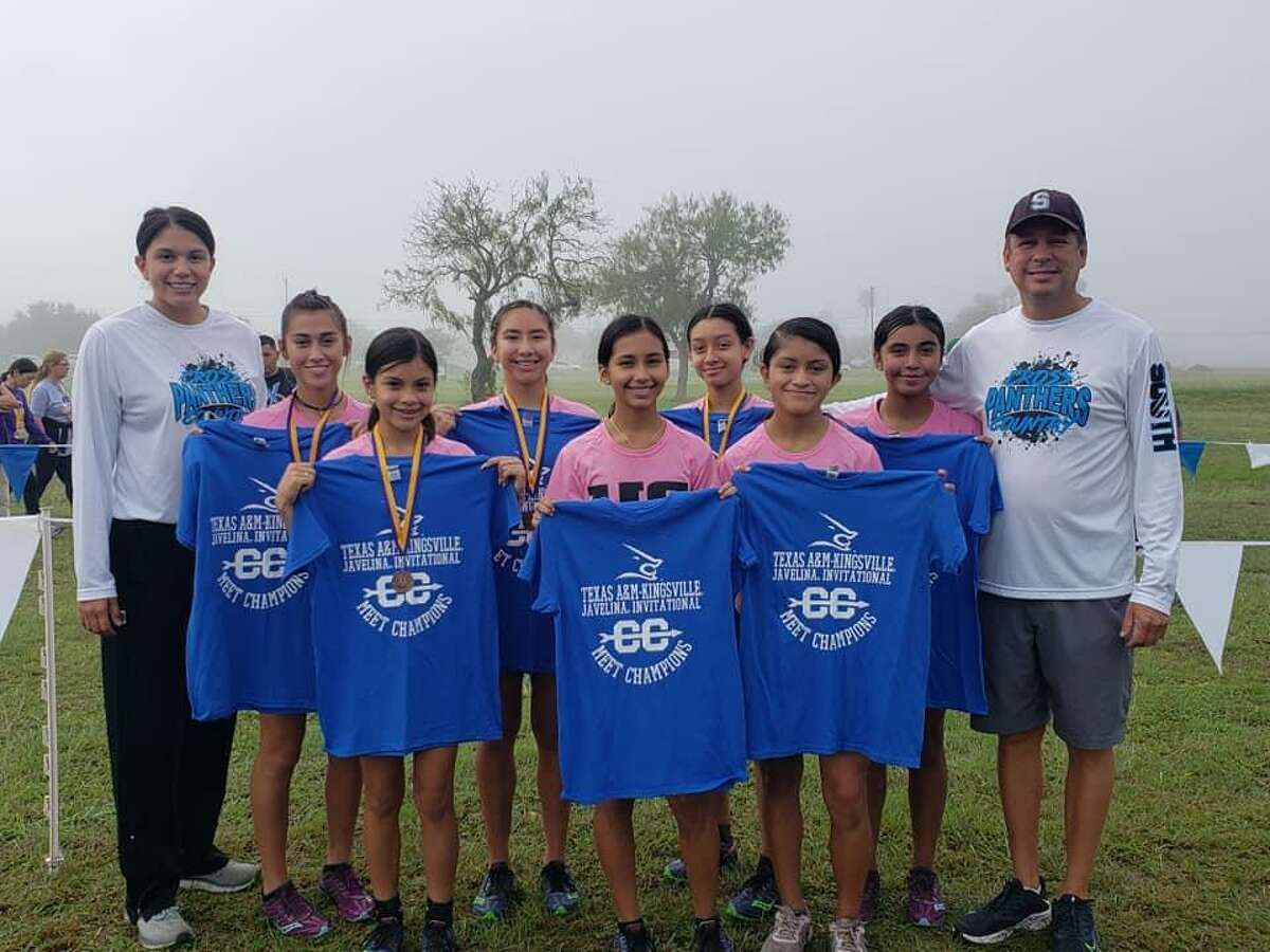 The United South Lady Panthers cross country team claimed the team title at the Javelina Invitational this past weekend.