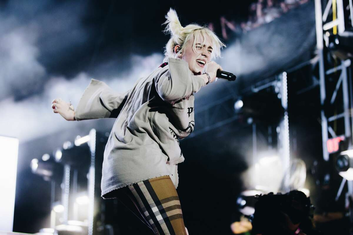 Billie Eilish performs onstage during Austin City Limits Festival at Zilker Park on Oct. 2 in Austin.