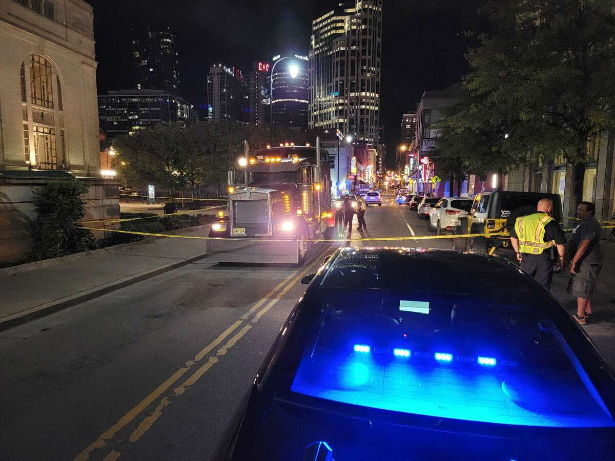 A Texas woman died after losing control of a scooter while in downtown Nashville, officials said.