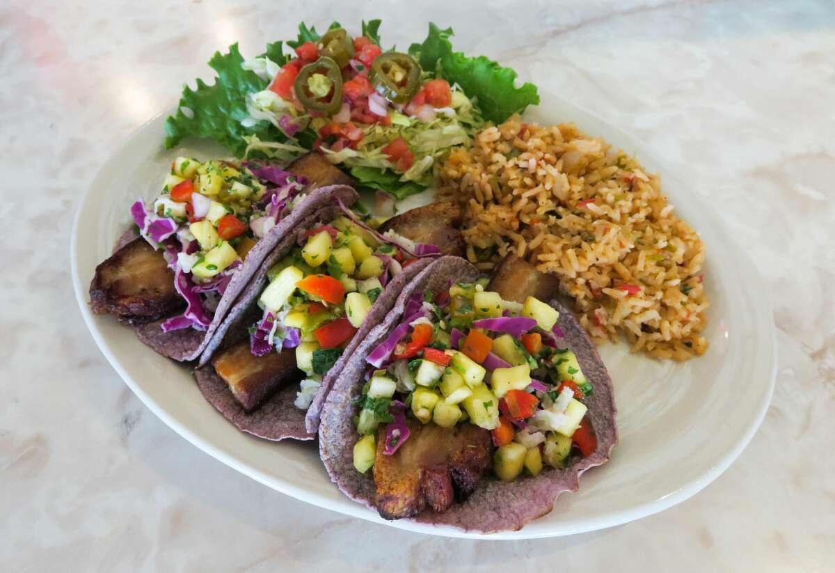 Chuy's Pork Belly Tacos