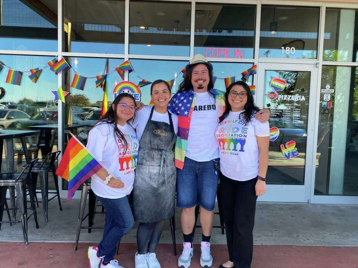 The Gateway City Pride Association hosted a recent one-year anniversary celebration fundraiser at 550 Pizzeria in where a percentage of pizza purchases were donated to the non-profit.