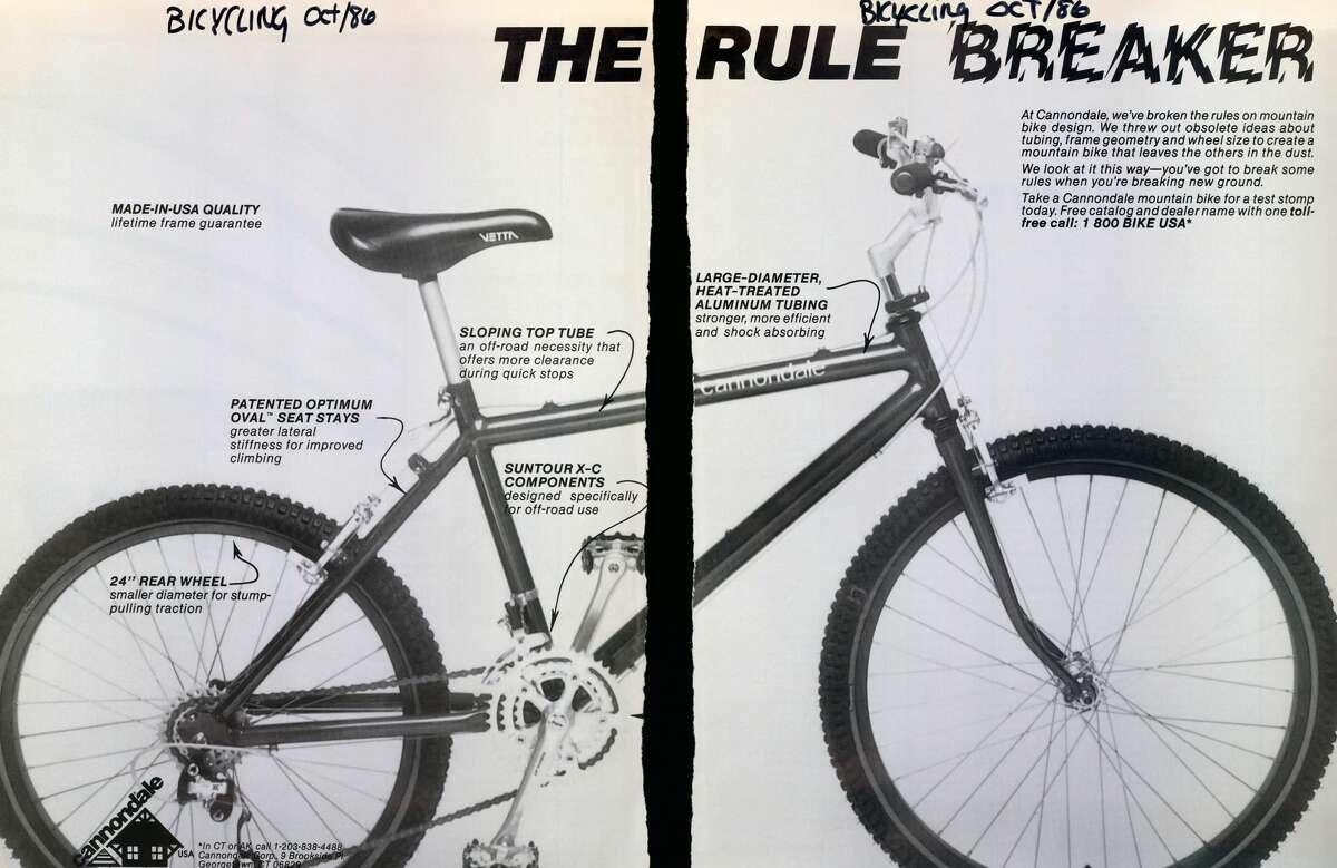 A 1986 Cannondale commercial.