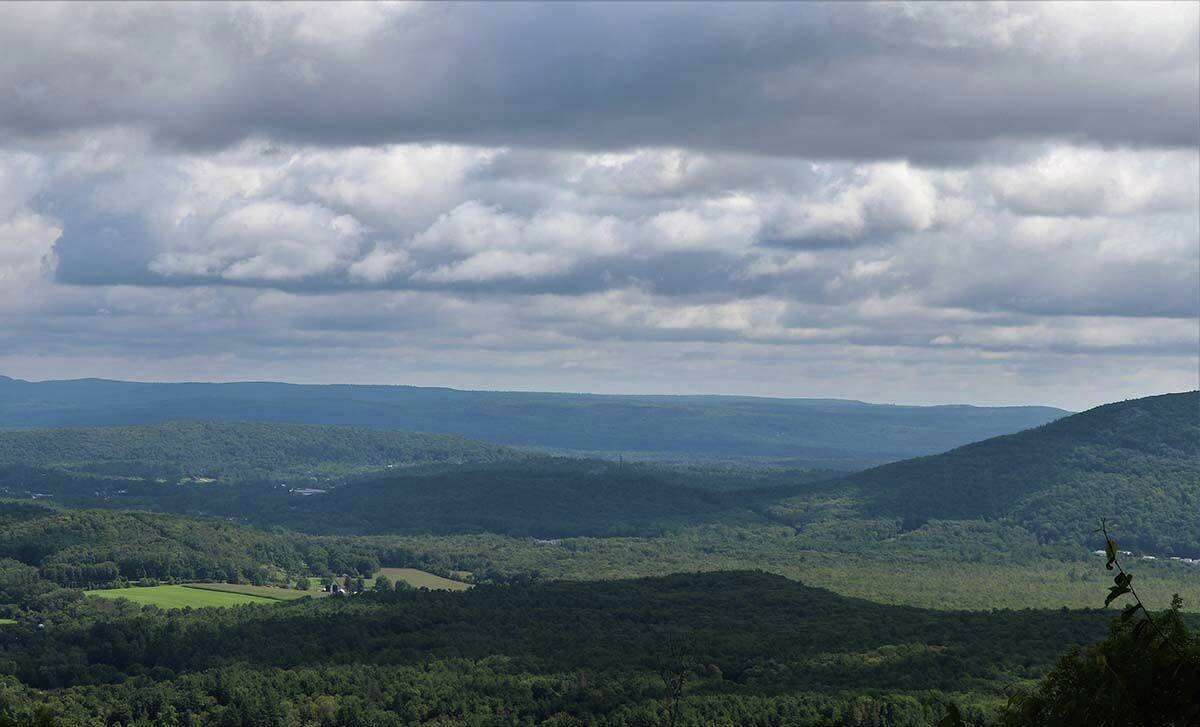 The view from Mount Prospect along the Appalachian Trail on the way to Rand's View.