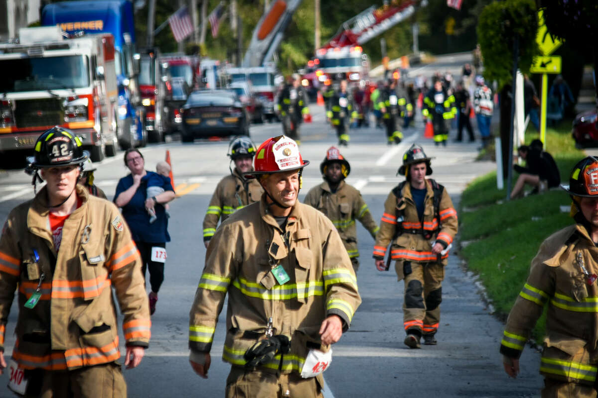 The 2021 Hero Fund America's Run 4 the Hills First Responders took place Saturday, Oct. 2, from the American Hotel in Sharon Springs. (Photos by Tim Smith, Bruce Button)