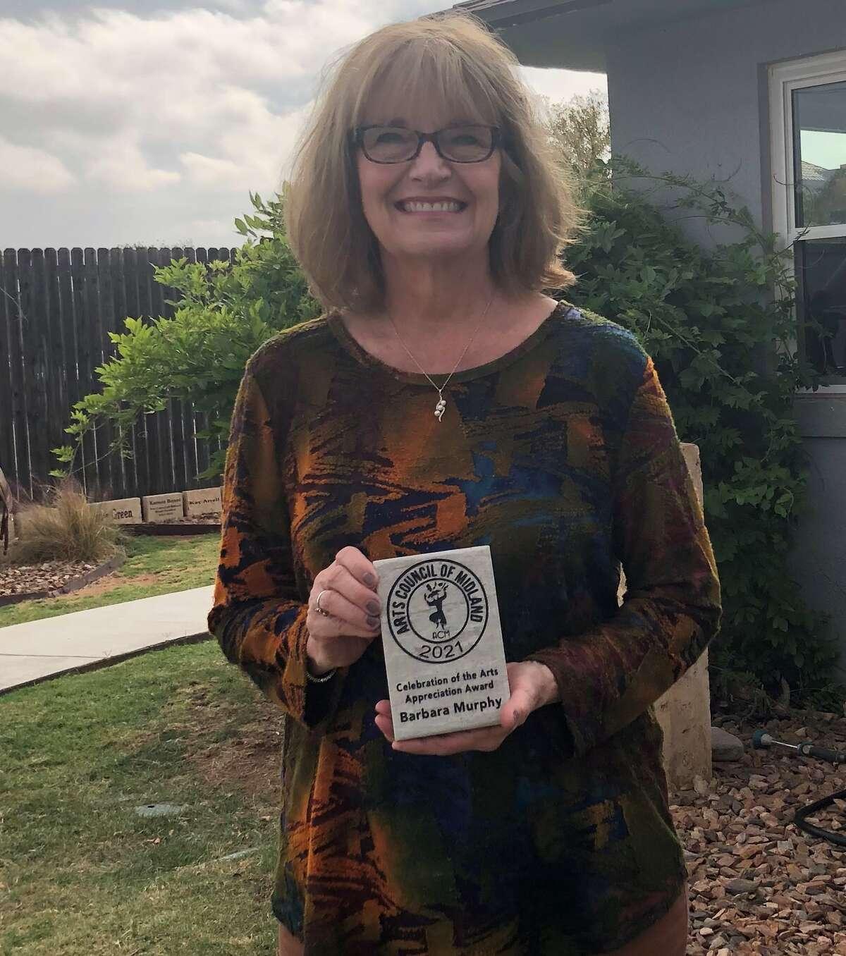 ACM's Celebration of the Arts Volunteer Barbara Murphy