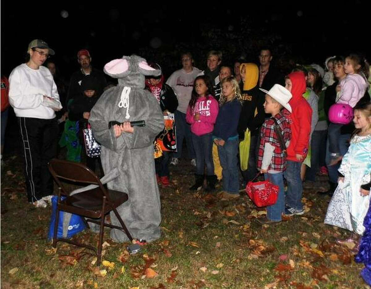 Children are shown at a past Enchanted Forest at The Nature Institute in Godfrey. This year's event is set for Oct. 15.