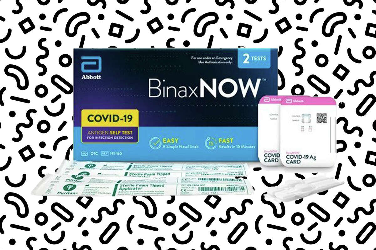 BinaxNOW COVID‐19 Antigen Self Test (2 Count) for $14 at Walmart