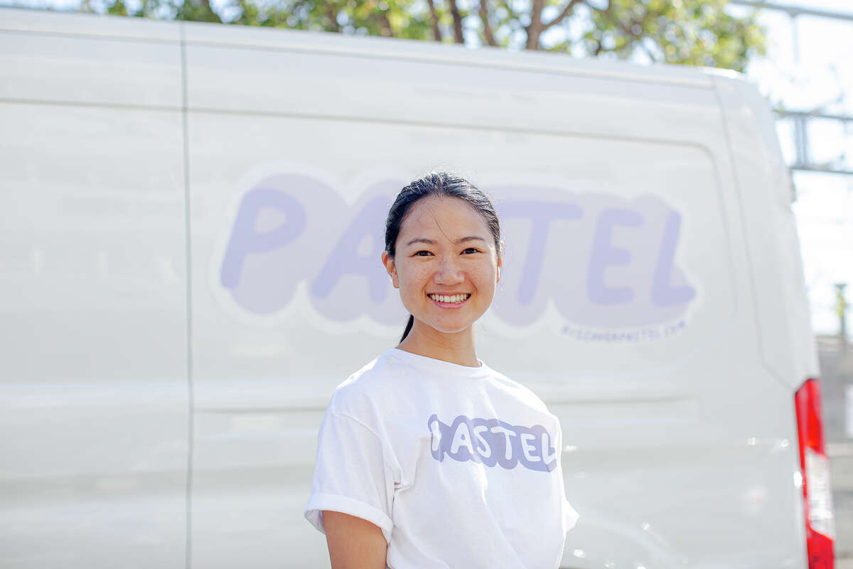 Amanda Nguyen created Pastel after realizing that her pastry wasn't reaching many of her customers in the Bay Area.