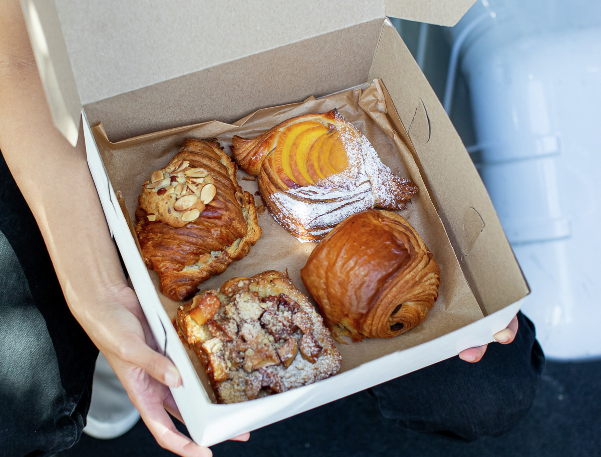 Amanda Nguyen owns pastries that her company, Pastel, delivers.  She created Pastel after realizing that her baking wasn't reaching many of her customers in the Bay Area.