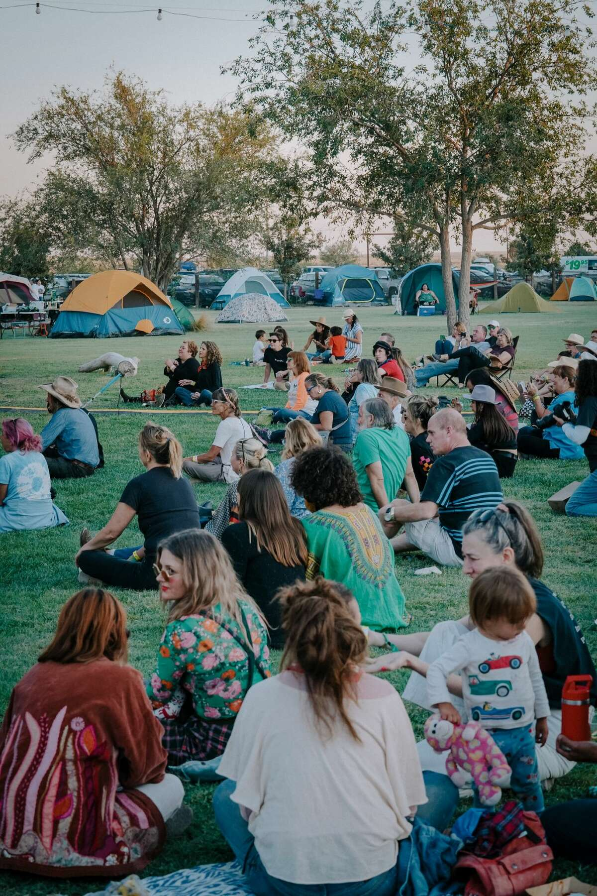 Scenes from the Trans-Pecos Festival of Love + Music from Sept. 22 to Sept. 26 at El Cosmico in Marfa.