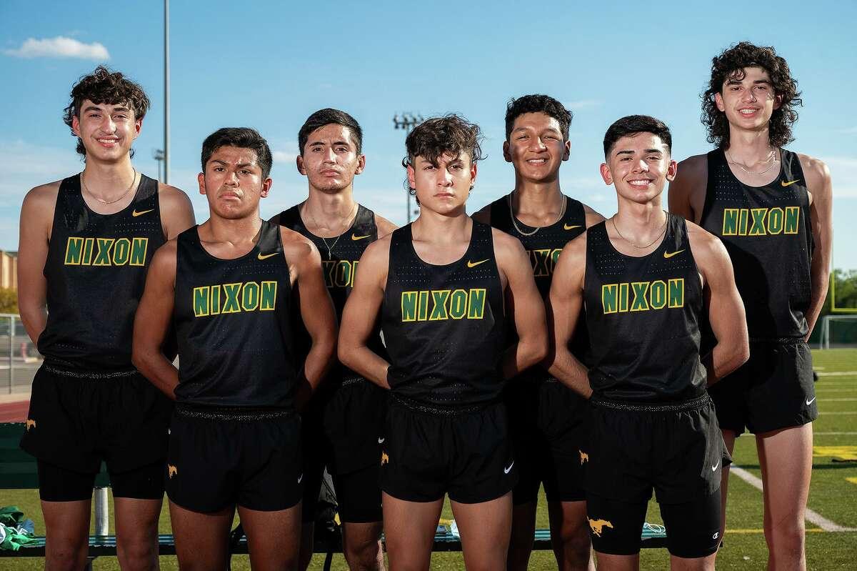 The Nixon boys' varsity cross country team has enjoyed a handful of success this season.