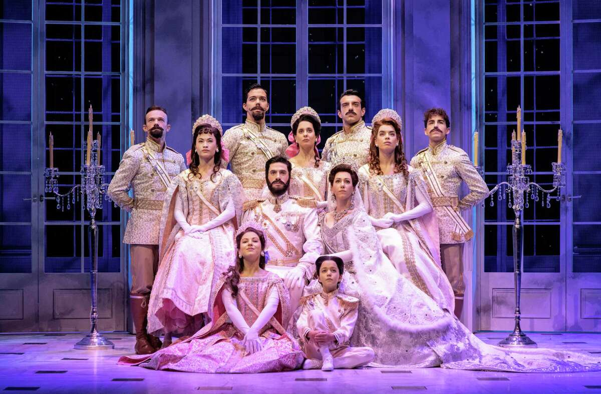 """Performances of """"Anastasia"""" run through Oct. 21 at The Palace Theater in Waterbury."""