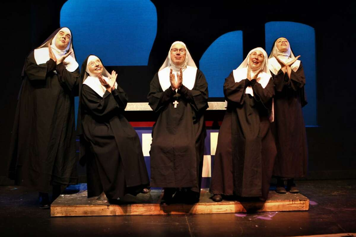 """""""Nunsense With a Twist!"""" runs through Oct. 10 at Waterbury's Seven Angels Theater."""