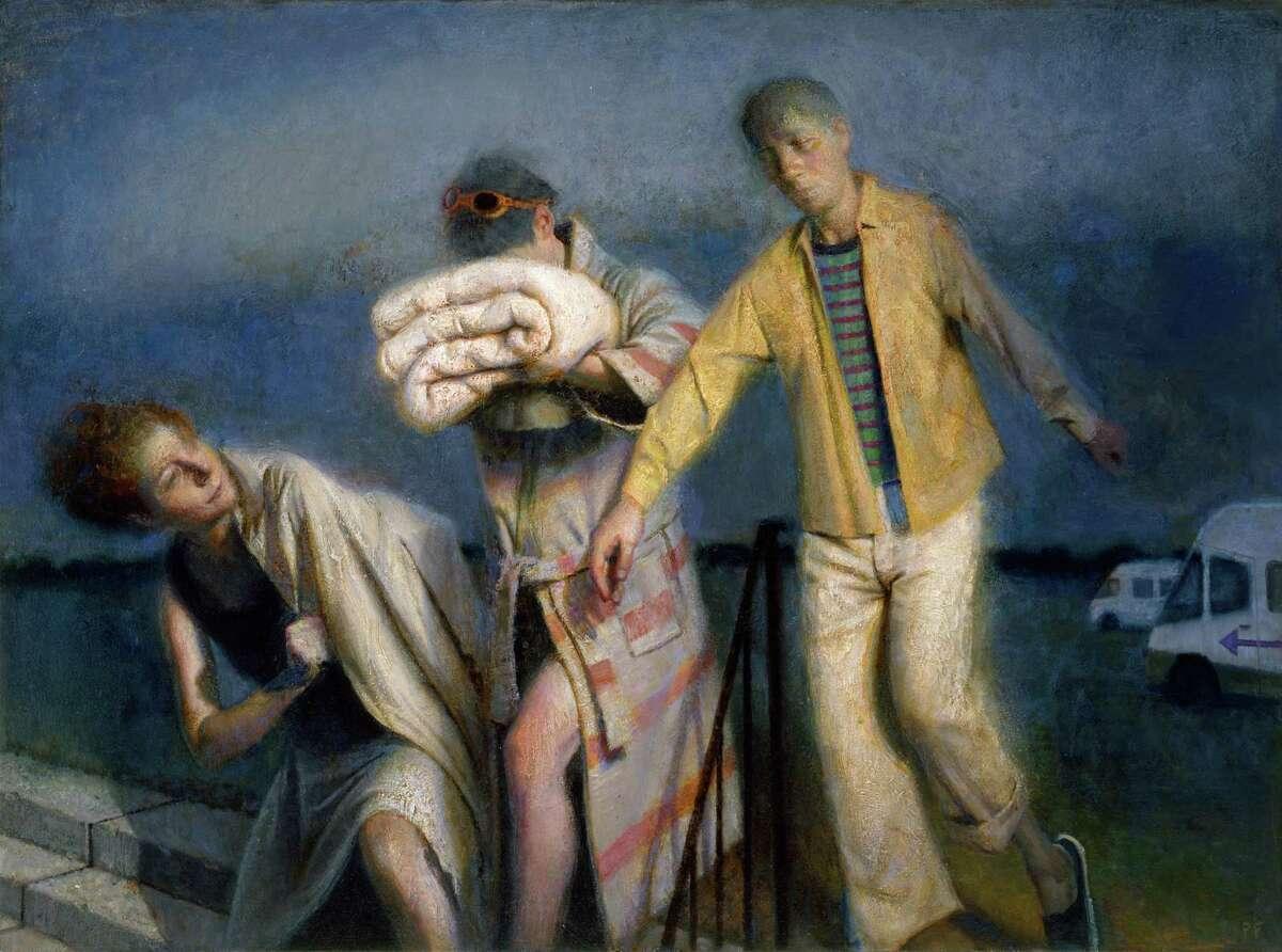 "Paul Fenniak's ""Excursion,"" in oil on canvas, is part of the Lyme Academy of Fine Arts exhibition ""Memento Vivere."""