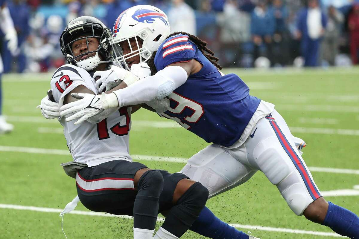 Brandin Cooks and Texans took it on the chin against the Bills on Sunday.