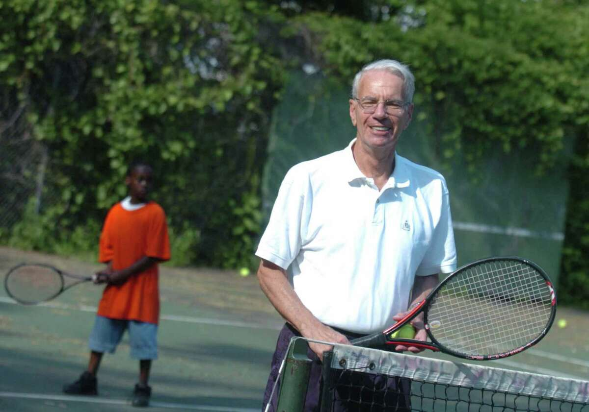 Arthur Goldblatt was the founder of Norwalk Grassroots Tennis & Education. The group merged with the Stamford program in 2019.