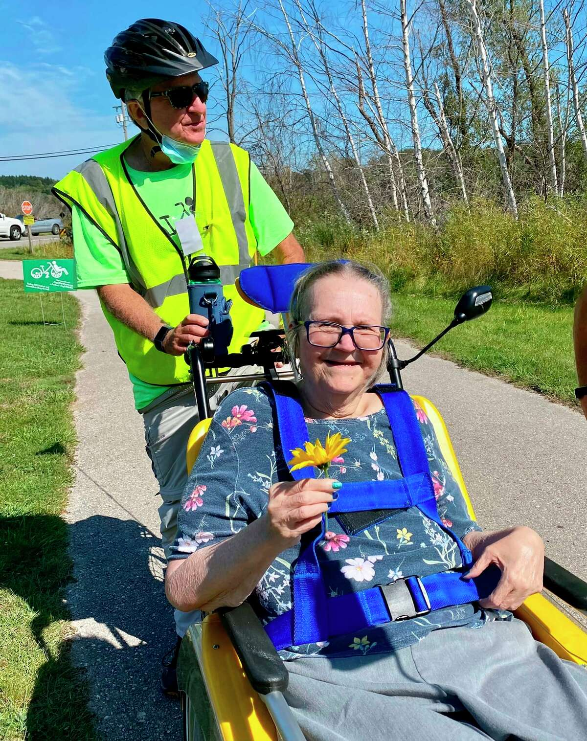 Experiencing the outdoors can be a challenge for people with mobility issues, so Joy2Rideis helping toget people outside and into the fresh air. (Courtesy Photo)