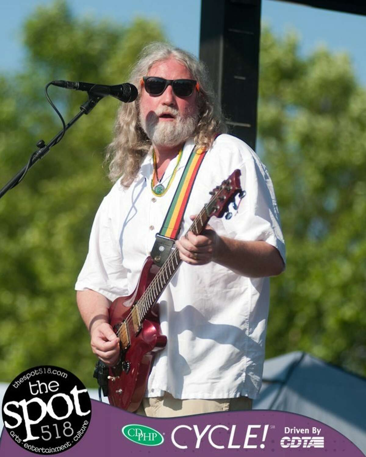Dr. Jah's Dave Geoghegan at Albany's Alive at Five. (Courtesy: Dr. Jah and theLove Prophets)