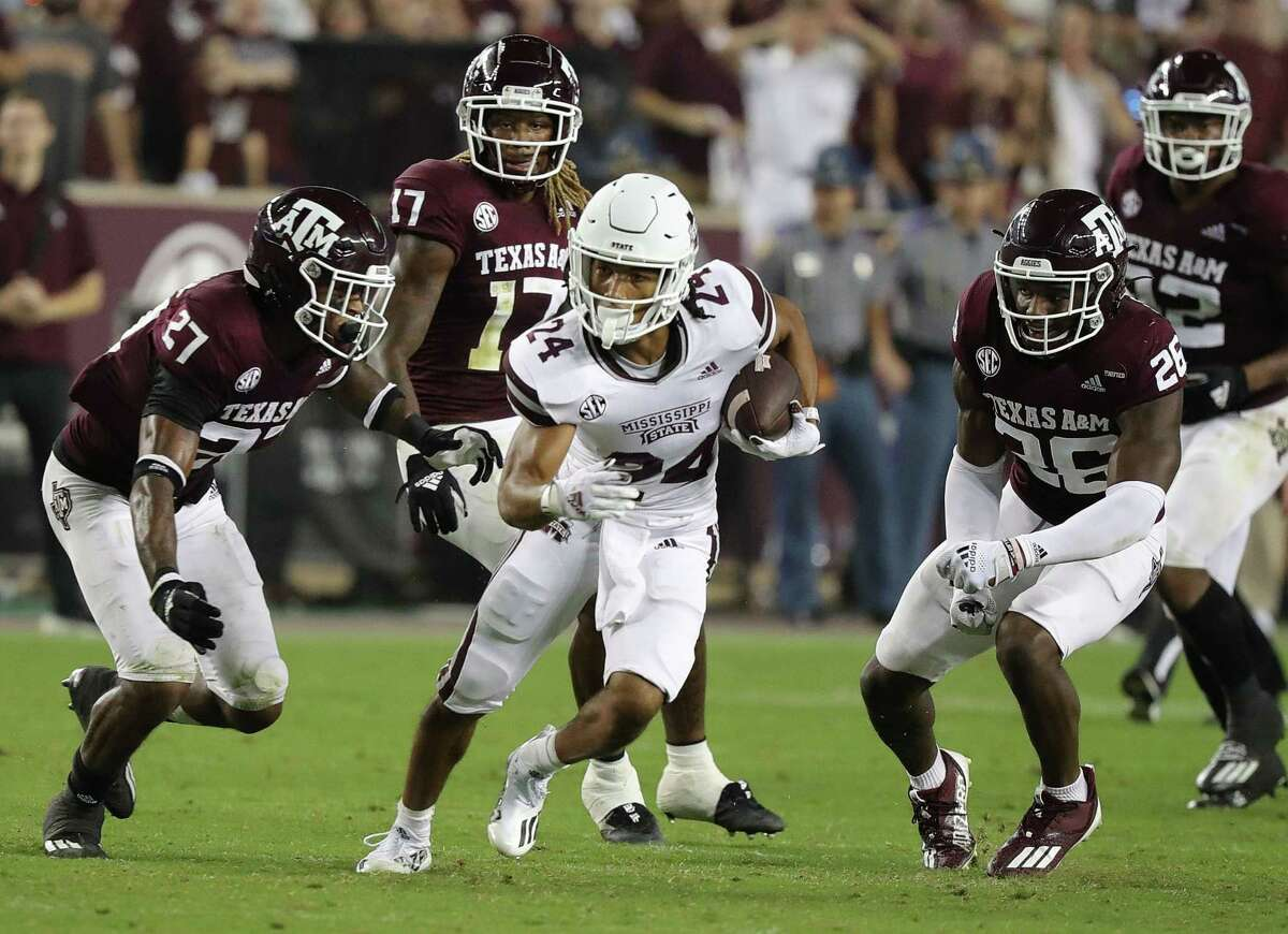 Texas A&M couldn't corral Christian Ford and Mississippi State in Saturday's loss, which put the Aggies at 0-2 in SEC play.