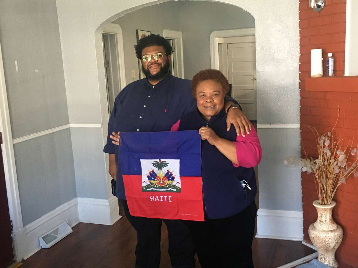 Marc and Marge LaCroix, mother and son, run a Schenectady based nonprofit called Haitian American Community Services Inc.