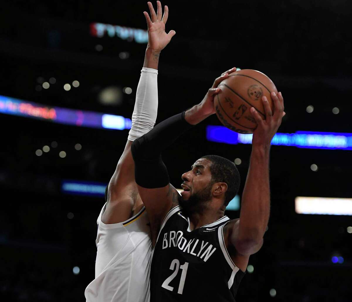 LaMarcus Aldridge, a former Spur and UT standout, made his preseason debut with the Brooklyn Nets on Sunday after a heart condition forced him to step away last season.