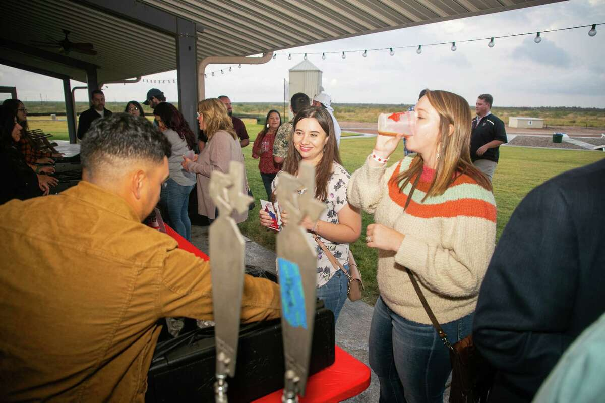 """""""West Texas Festival"""";  a beer, wine and spirits tasting benefiting the Ellen Noel Art Museum took place on October 1, 2021 at the Midland Shooters Association Shotgun Range clubhouse.  MANDATORY CREDIT: The Oilfield Photographer, Inc."""