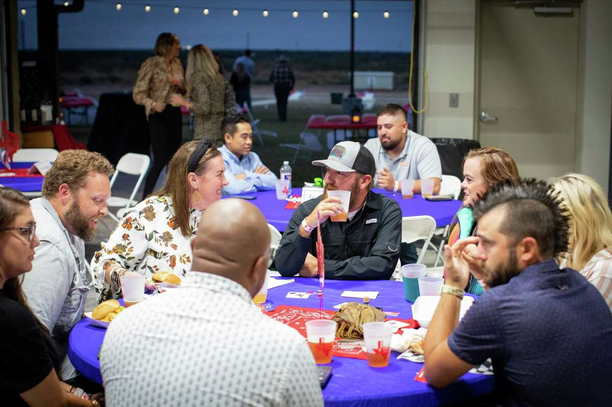 """""""West Texas Fest""""; a beer, wine and spirit tasting benefitting the Ellen Noel Art Museum, took place October 1, 2021 at the Midland Shooters Association Shotgun Range clubhouse. MANDATORY CREDIT: The Oilfield Photographer, Inc."""
