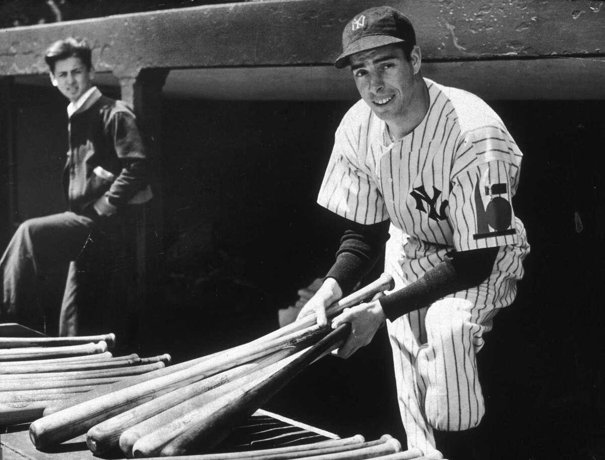 Yankees' outfielder Joe DiMaggio has always been a fan favorite in New Haven.