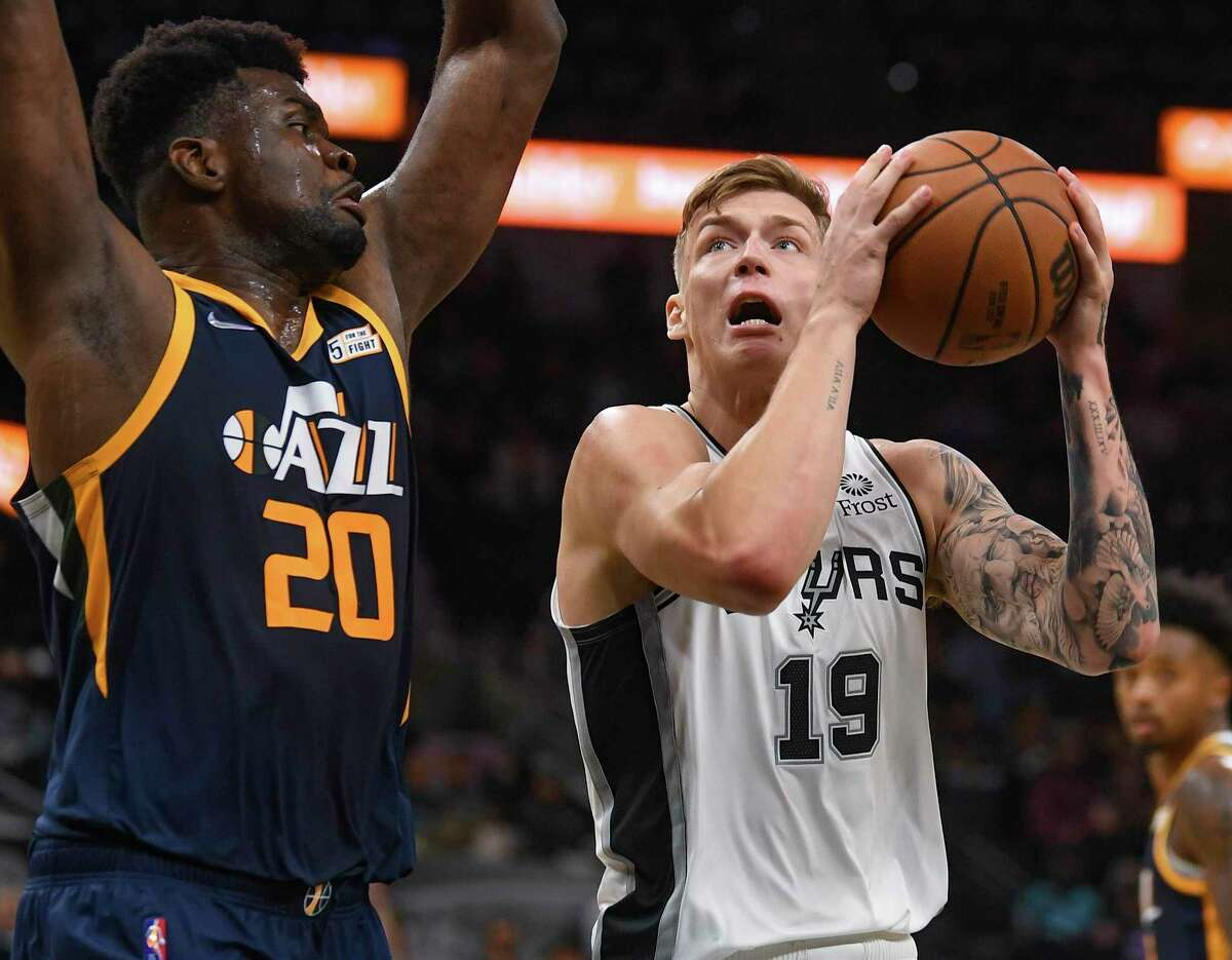 The Spurs finally moved on from 2019 first-round pick Luka Samanic, right, who clearly wasn't going to be part of the franchise's present or future.