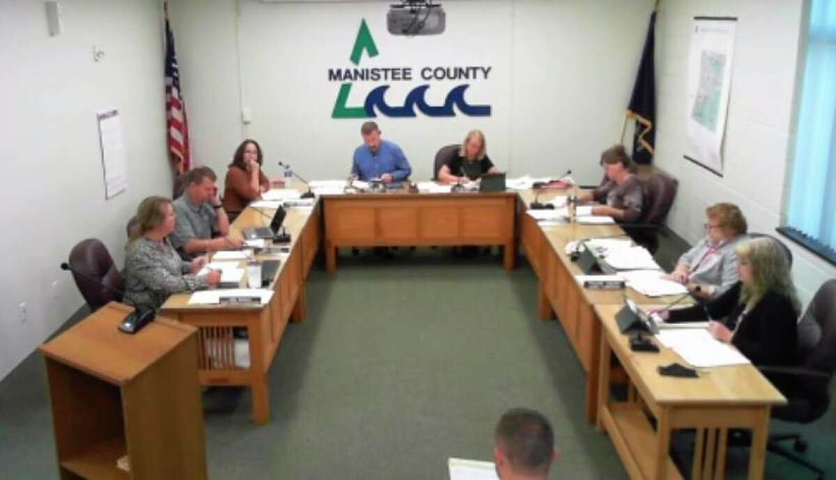 The Manistee County Board of Commissioners voted in support of a code enforcement officer service agreement at its September monthly meeting. (Scott Fraley/News Advocate)