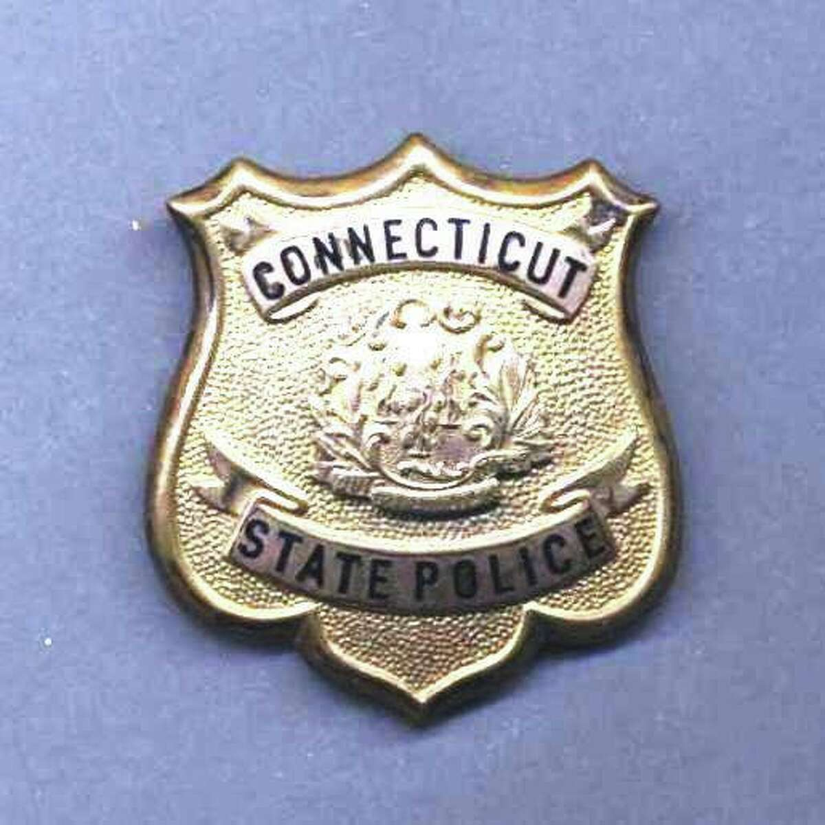 Connecticut State Police badge.