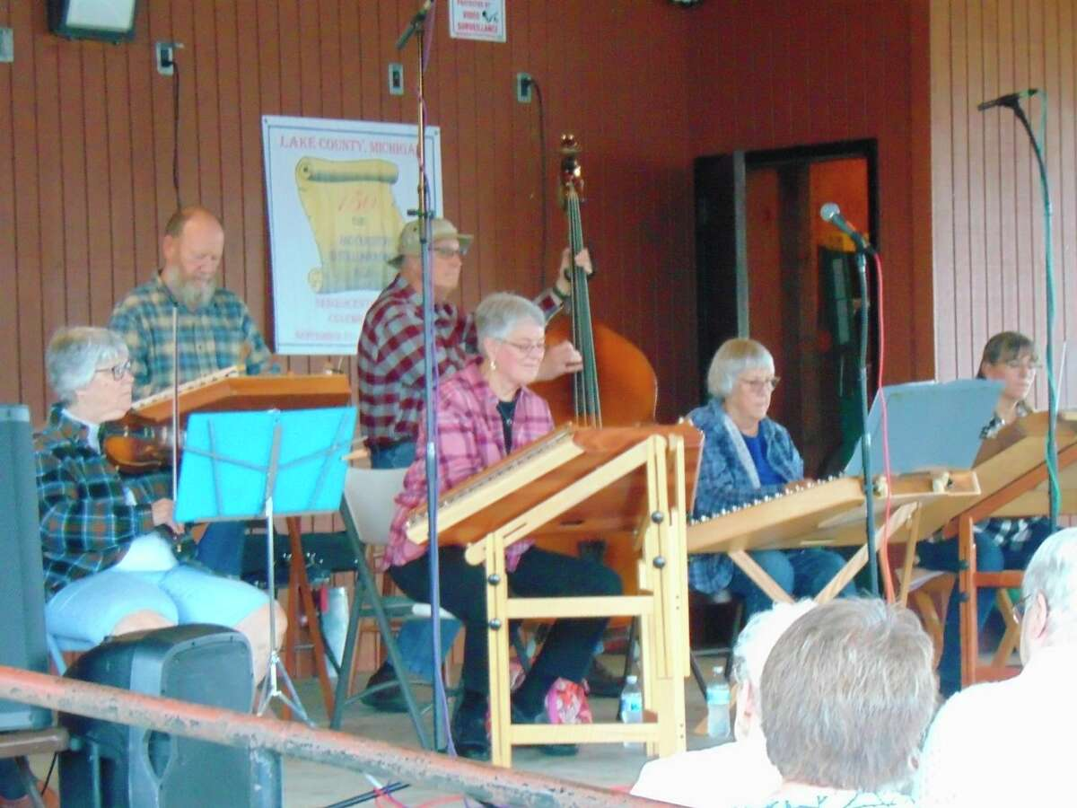The Pine Stump Savages furnished a number of old-time songs. (Star photo/Shanna Avery)