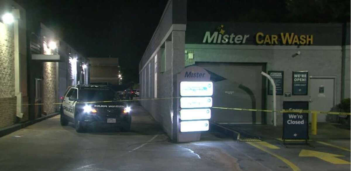 A mandied after a shooting in west Houston early Tuesday morning, according to Houston police.