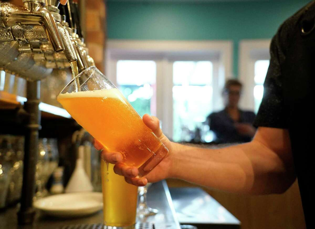 Beer on tap at Southern Yankee Crafthouse, 1312 W. Alabama