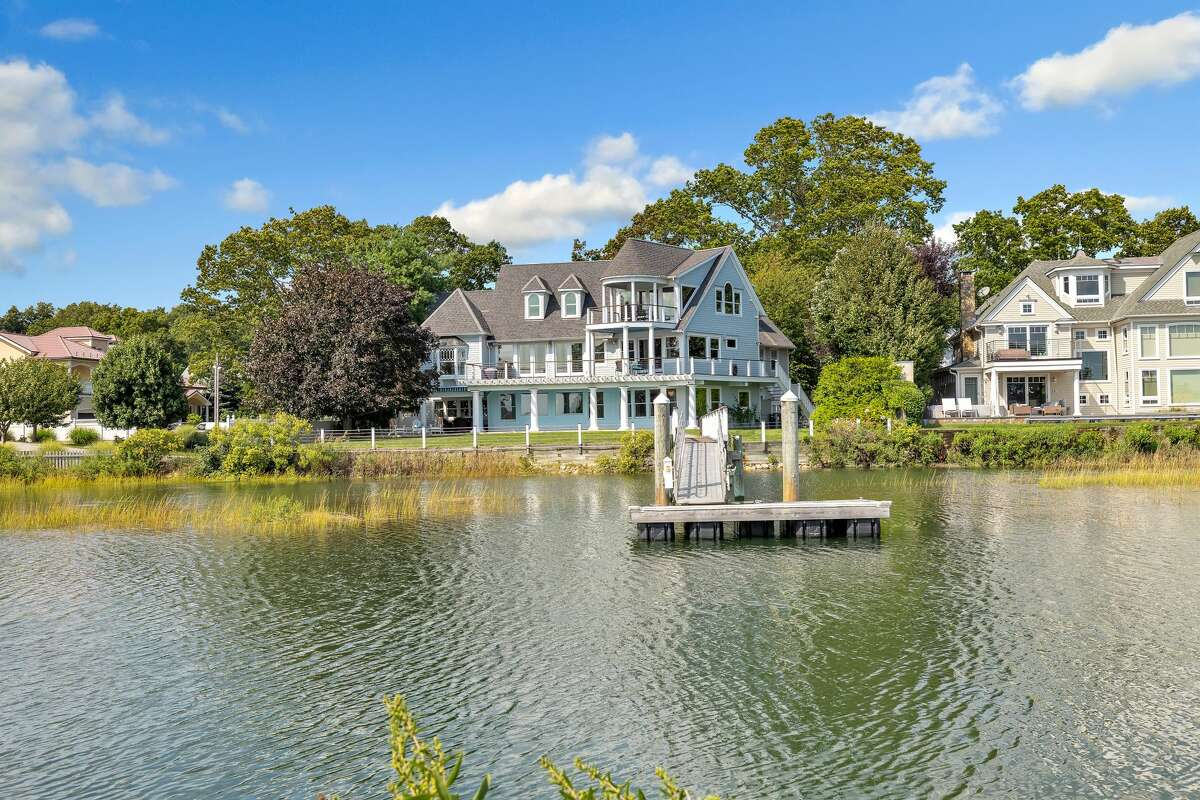 The house at 29 Covelee Drive in Norwalk is on the market for $5,995,000.