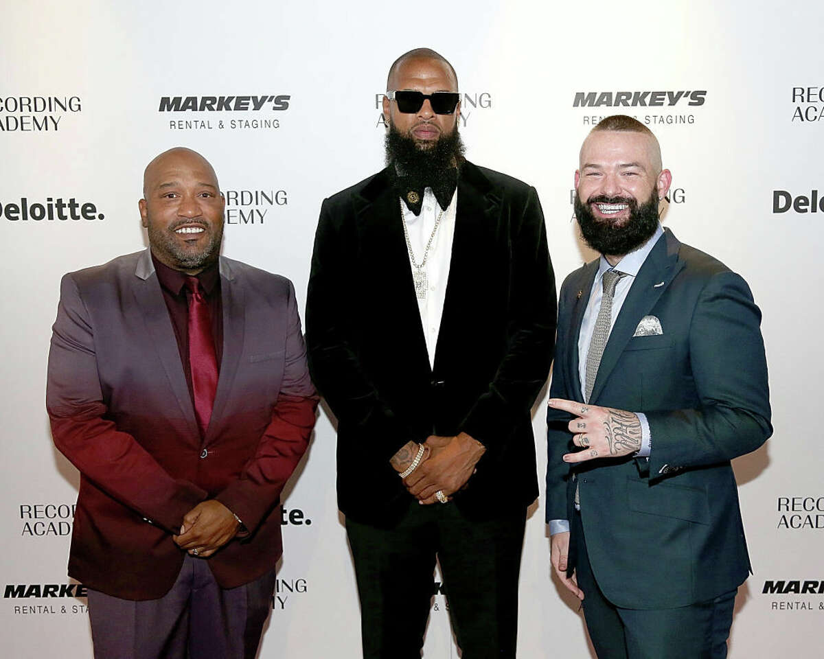AUSTIN, TEXAS - JULY 18: (L - R) Bun B, Slim Thug and Paul Wall attend the Texas Chapter of the Recording Academy's 25th Anniversary Gala at ACL Live on July 18, 2019 in Austin, Texas. (Photo by Gary Miller/FilmMagic)
